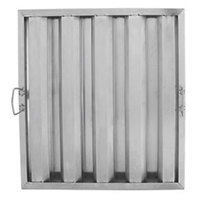 20 inch x 20 inch x 2 inch Stainless Steel Hood Filter