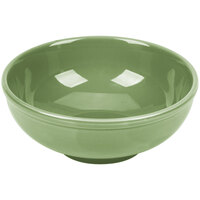 CAC MB-7GRE Festiware Salad / Pasta Bowl 25 oz. - Green - 24/Case