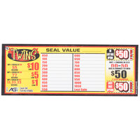 Twins 3 Window Pull Tab Tickets - 364 Tickets Per Deal - Total Payout: $293