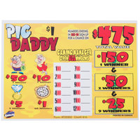 Pack O' Pigs 1 Window Pull Tab Tickets - 816 Tickets Per Deal - Total Payout: $620