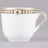 Syracuse China 911191011 Baroque 6 oz. Bone China Tea Cup - 36/Case