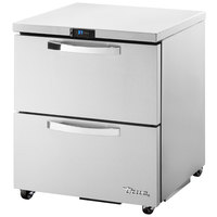 True TUC-27D-2-HC~SPEC1 27 inch Spec Series Undercounter Refrigerator with Two Drawers