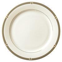 Syracuse China 911191001 Baroque 10 1/2 inch Bone China Dinner Plate - 12/Case