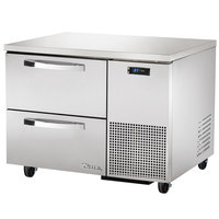 True TUC-44D-2~SPEC1 44 inch Spec Series Undercounter Refrigerator with Two Drawers