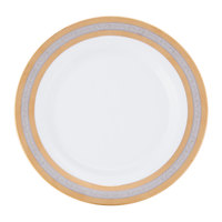 10 Strawberry Street ELE-1 Elegance 10 3/4 inch Dinner Plate   - 24/Case