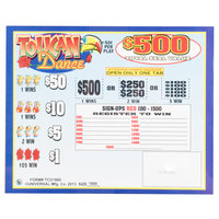Toucan Dance 5 Window Pull Tab Tickets - 1800 Tickets Per Deal - Total Payout: $675