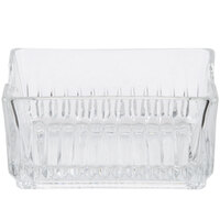 Libbey 5460 Winchester 4 1/4 inch Glass Sugar Package Holder - 24/Case