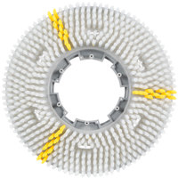 Carlisle 3615VWH EZSnap 15 inch White Value Rotary Daily Cleaning Brush