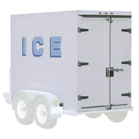 Polar Temp 3X7AD 3' x 7' Auto Defrost Refrigerated Ice Transport - 88 cu. ft.