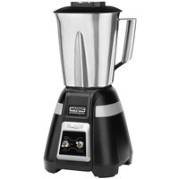 Waring BB300S Blade 48 oz. Bar Blender with Stainless Steel Container and Toggle Controls - 120V