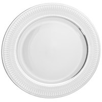 10 Strawberry Street IRIANA-1SLV Iriana 10 1/4 inch Silver Dinner Plate - 24/Case
