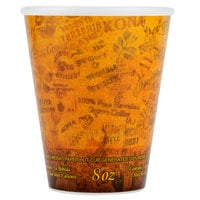 Dart Solo 89U8ESC 8 oz. Fusion Customizable Foam Hot Cup 1000/Case
