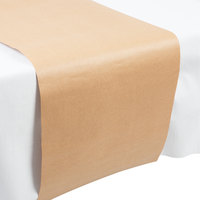 Creative Converting 317607 14 inch x 84 inch Kraft Paper Table Runner - 12/Case