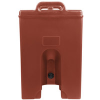 Cambro 250LCDPL402 Camtainer 2.5 Gallon Brick Red Insulated Soup Carrier