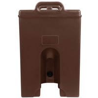 Cambro 1000LCDPL131 Camtainer 11.75 Gallon Dark Brown Insulated Soup Carrier