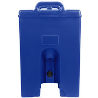 Cambro 1000LCDPL186 Camtainer 11.75 Gallon Navy Blue Insulated Soup Carrier