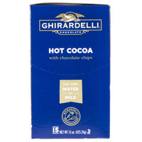 Ghirardelli Hot Cocoa Mix Packets with Chocolate Chips - 15/Box