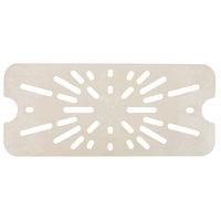Cambro 20HPD772 1/2 Size Sandstone High Heat Drain Tray