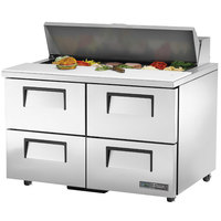 True TSSU-48-12D-4-HC 48 inch Sandwich / Salad Prep Refrigerator