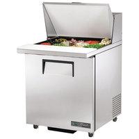 True TSSU-27-12M-C-ADA-HC 27 inch ADA Height Mega Top Sandwich / Salad Prep Refrigerator with Right-Hinged Door