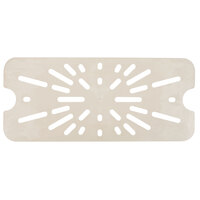 Cambro 10HPD772 Full Size Sandstone High Heat Drain Tray