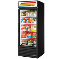 True GDM-26F-HC~TSL01 30 inch Black Glass Door Merchandiser Freezer with LED Lighting