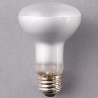 Satco S4514 45 Watt Warm White Frosted Halogen Flood Lamp Light Bulb - 120V (R20)