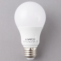 Satco S9830 5 Watt (40 Watt Equivalent) Frosted Warm White Multi-Directional LED Light Bulb - 120V (A19)