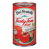 Tasty Tom Spicy Tomato Juice - (12) 46 oz. Cans / Case