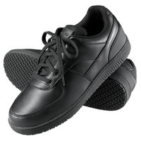Genuine Grip 210 Women's Size 6.5 Wide Width Black Leather Sport Classic Non Slip Shoe