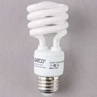 Satco S7218 13 Watt (60 Watt Equivalent) Cool White Mini Spiral Compact Fluorescent Light Bulb - 120V (T2)