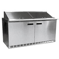 Delfield 4464N-16 64 inch Salad Prep Refrigerator with Two Doors