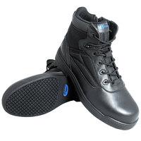 Genuine Grip 5060 Thunderbolt Men's Size 14 Medium Width Black Composite Toe Non Slip Full Grain Leather Tactical Boot with Zipper Lock