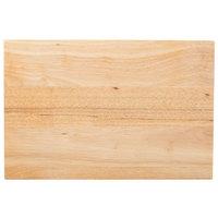 """Choice 18"""" x 12"""" x 1 3/4"""" Wood Cutting Board"""
