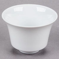 CAC CTY-C8 Citysquare 4 oz. Bright White China Round Cup - 48/Case