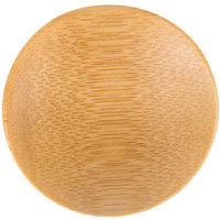 Tablecraft BAMDRBAM2 2 1/2 inch Bamboo Disposable Round Dish - 48/Case