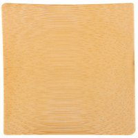 Tablecraft BAMDSBAM2 2 1/2 inch x 2 1/2 inch Bamboo Disposable Square Dish - 48/Case