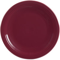 Homer Laughlin 467341 Fiesta Claret 11 3/4 inch Round Chop Plate - 4/Case