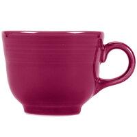 Homer Laughlin 452341 Fiesta Claret 7.75 oz. Cup - 12/Case