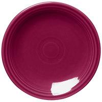 Homer Laughlin 464341 Fiesta Claret 7 1/4 inch Round Salad Plate - 12/Case