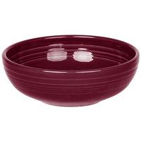 Homer Laughlin 1458341 Fiesta Claret 38 oz. Medium Bistro Bowl   - 6/Case