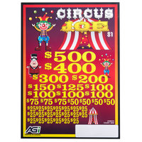 Circus Joe 5 Window Pull Tab Tickets - 4000 Tickets per Deal - Total Payout: $3000