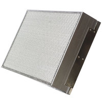 Wells WL0711 HEPA Charcoal Filter Assembly - 15 3/8 inch x 20 3/4 inch