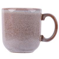 Homer Laughlin 224041437 Brownfield 14 oz. Cobblestone Cafe Mug - 12/Case