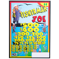 Fisherman Joe 5 Window Pull Tab Tickets - 4000 Tickets per Deal - Total Payout: $3000
