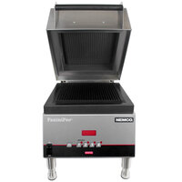Nemco 6900-GG PaniniPro 14 1/2 inch Single High-Speed Panini Press with Grooved Top and Bottom Plates