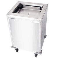 Delfield T-1216 Enclosed Mobile Tray Dispenser for 12 inch x 16 inch Trays