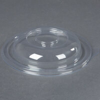 Fineline Super Bowl 5024-L Clear Plastic Dome Lid for 24 oz. Bowls - 100 / Case