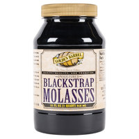 Golden Barrel 1 Qt. Sulfur-Free Blackstrap Molasses   - 12/Case