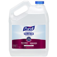 Purell 4341-04 1 Gallon Fragrance Free Foodservice Surface Sanitizer   - 4/Case